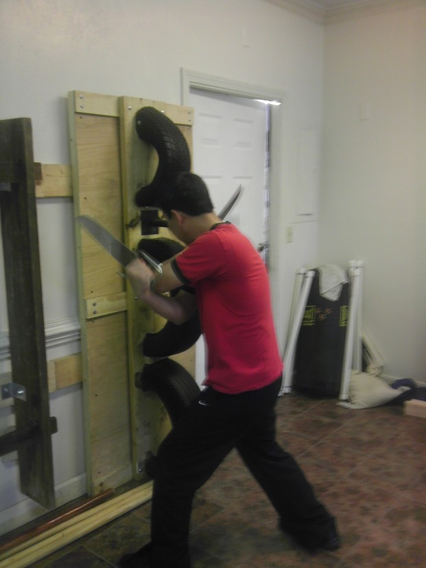 Lo Man Kam Wing Chun Knife Training