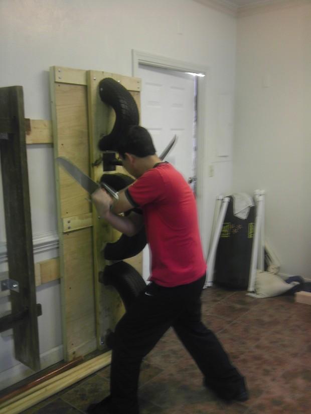 Lo Man Kam Wing Chun Knife Training