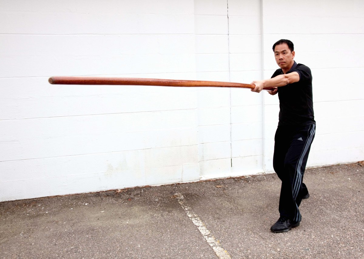 Wing Chun Long Pole Training