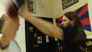 sifu gorden Germany Wing Chun 17-arrow punch