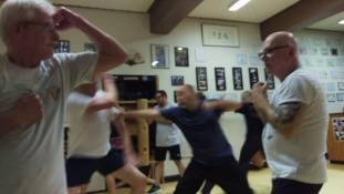 sifu gorden Germany Wing Chun 17-punch 2