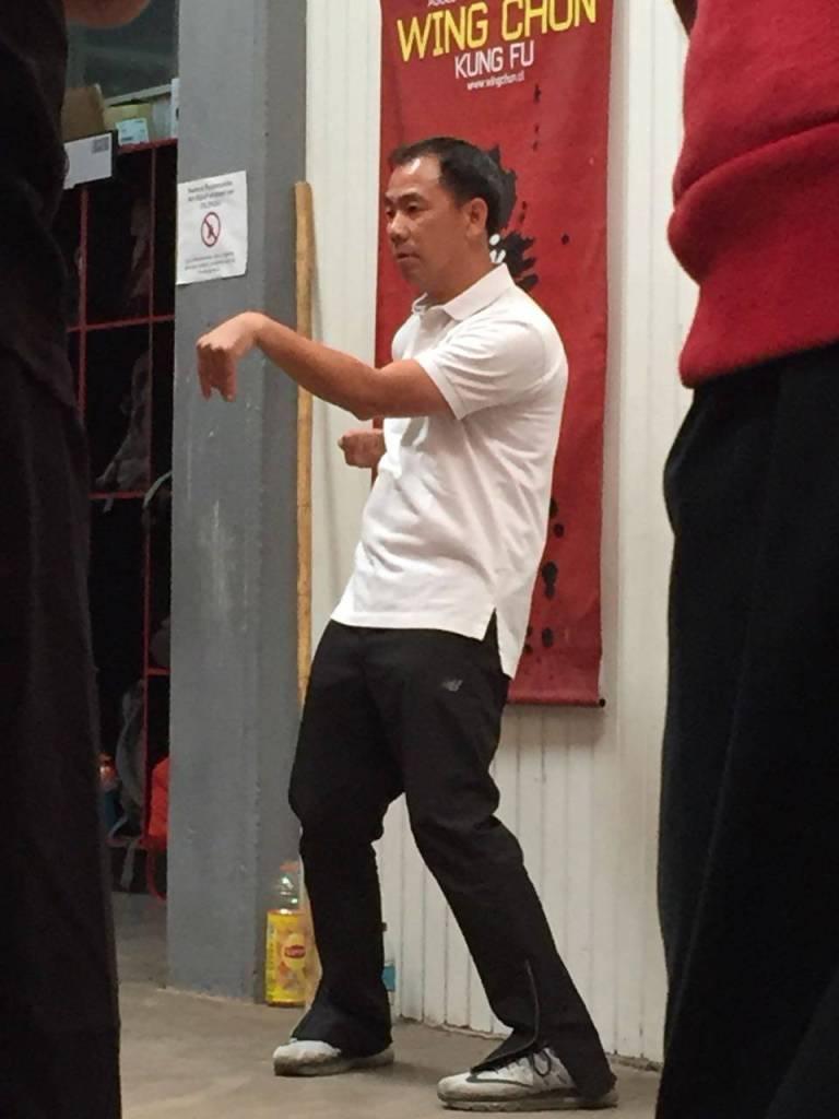 Sifu Gorden Lu Wing Chun